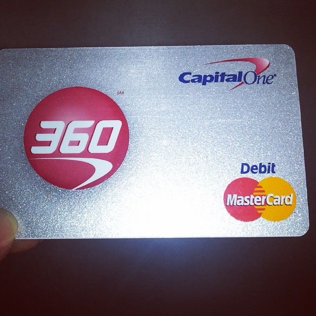 Capital one 360 activate card